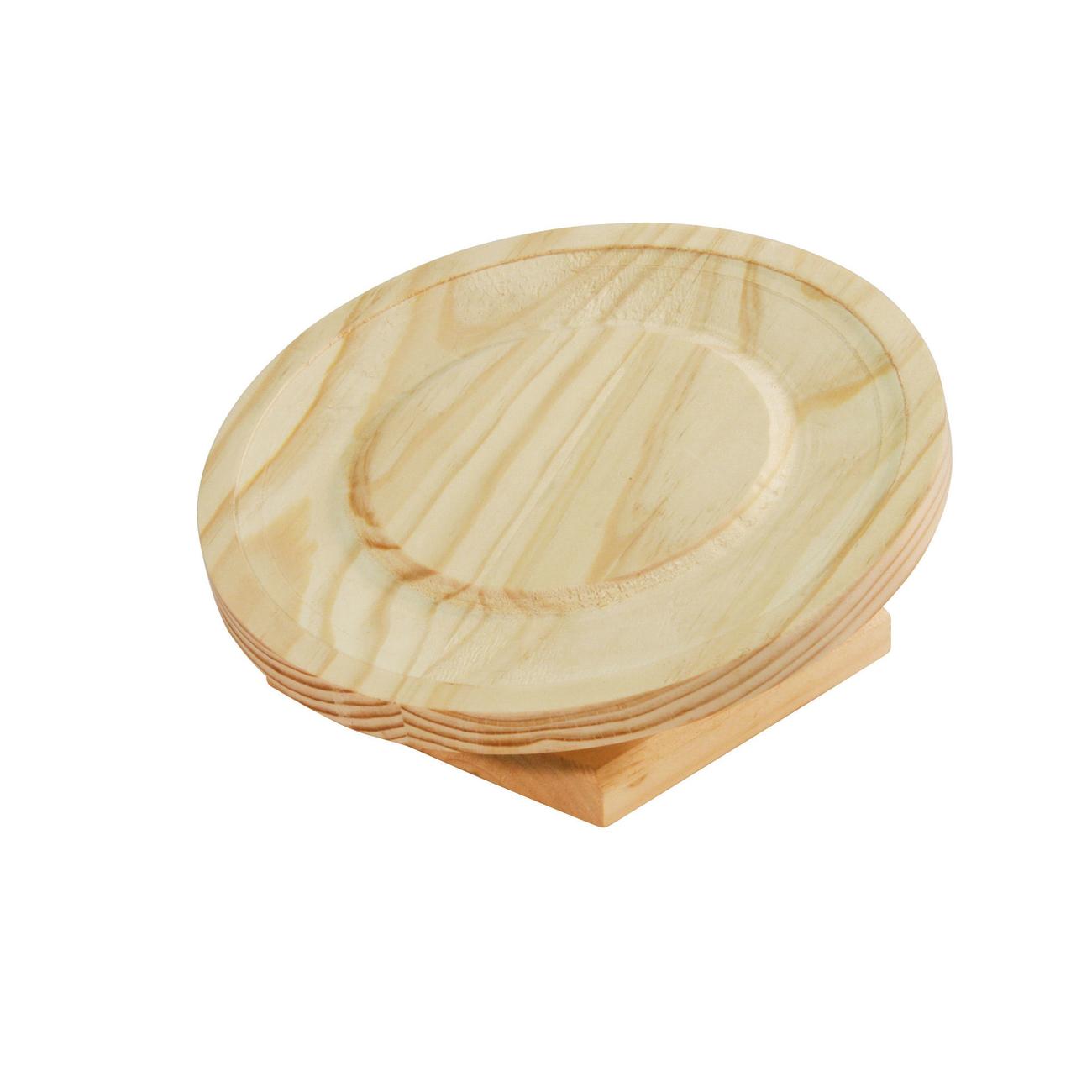 Kerbl Laufteller Holz für Hamster, Bild 2