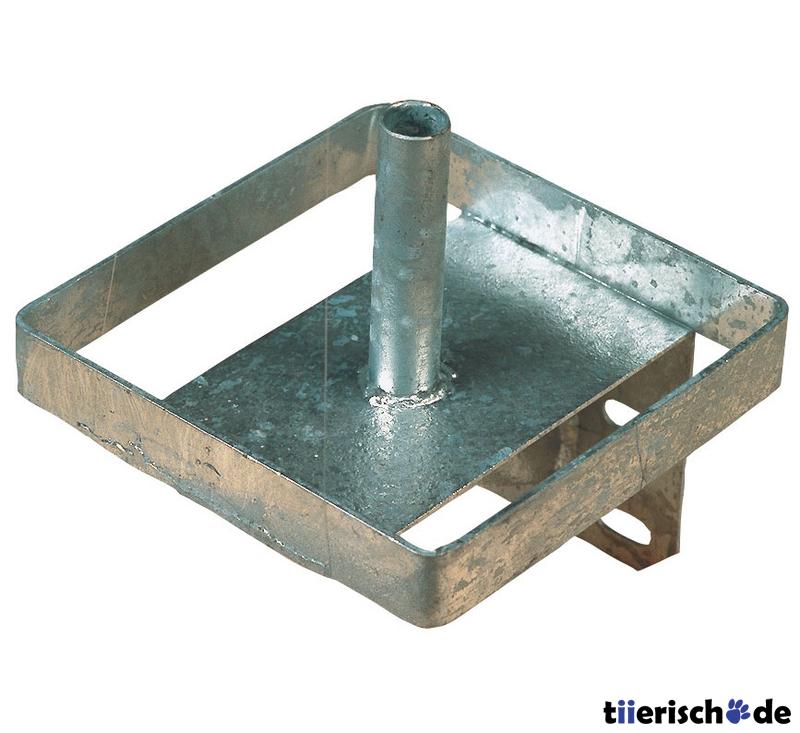 Kerbl Lecksteinhalter aus Metall