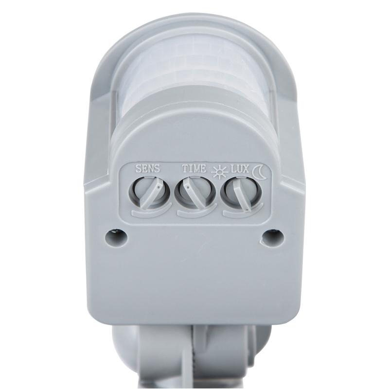 Kerbl LED Außenstrahler mit Bewegungsmelder, 80 Watt LED = 6400 Lumen, entspr. ca. 360 W Halogen