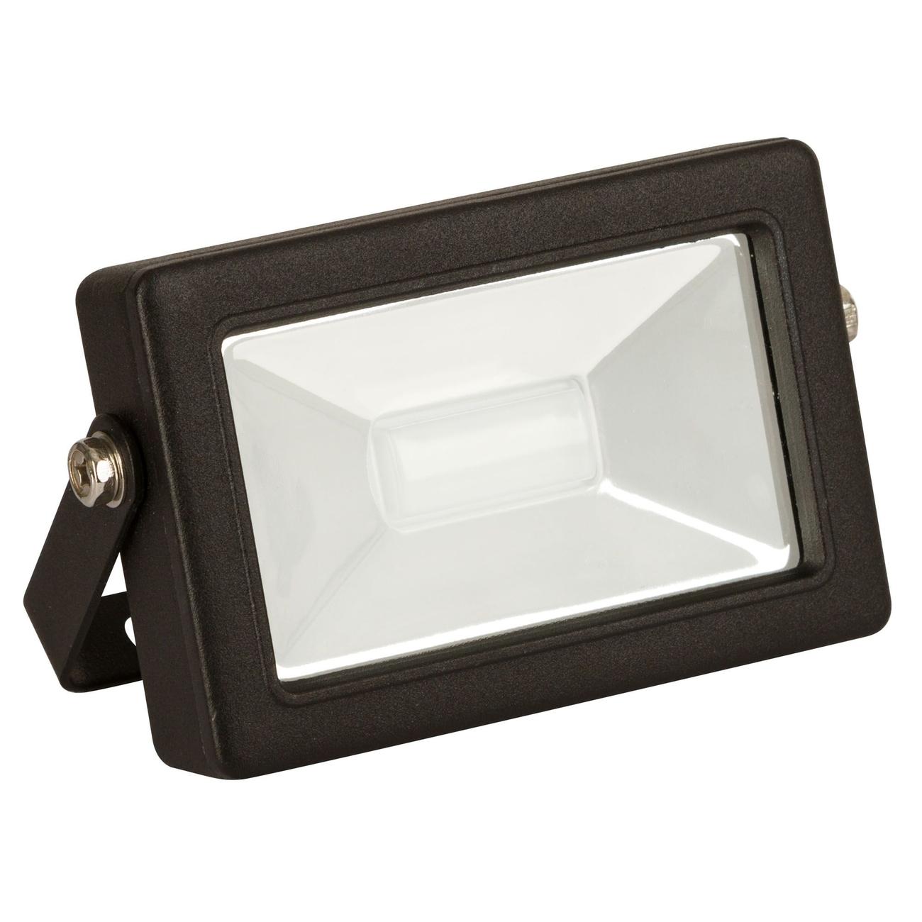 Kerbl LED-Außenstrahler mit oder ohne Bewegungsmelder, 10W, ohne Bewegungsmelder - 800Im, B134xH105xT38mm