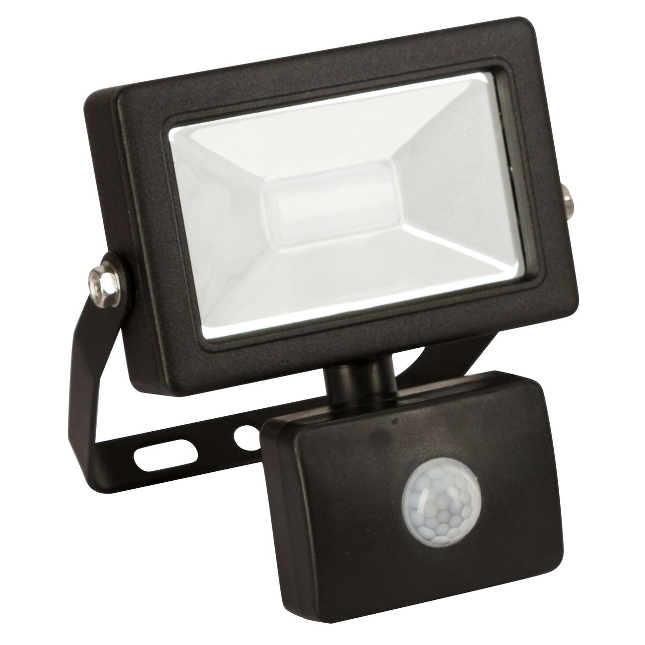 Kerbl LED-Außenstrahler mit oder ohne Bewegungsmelder, 10W, mit Bewegungsmelder - 800Im, B134xH145xT70mm