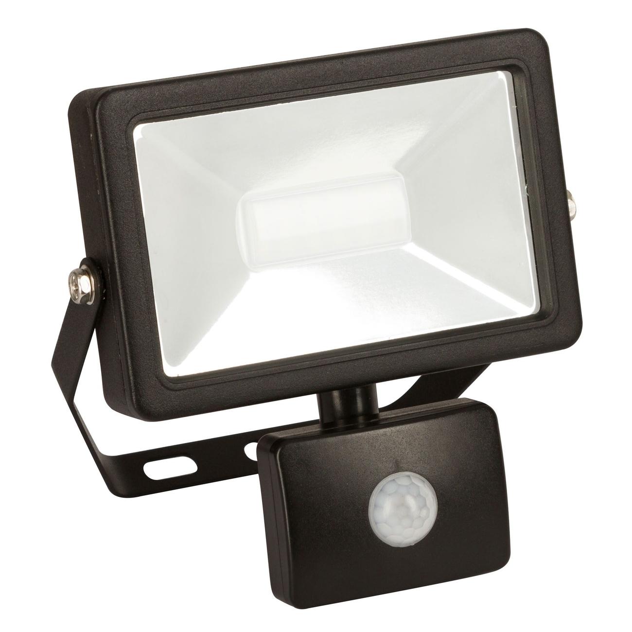Kerbl LED-Außenstrahler mit oder ohne Bewegungsmelder, 20W, mit Bewegungsmelder - 1600Im, B164xH165xT70mm