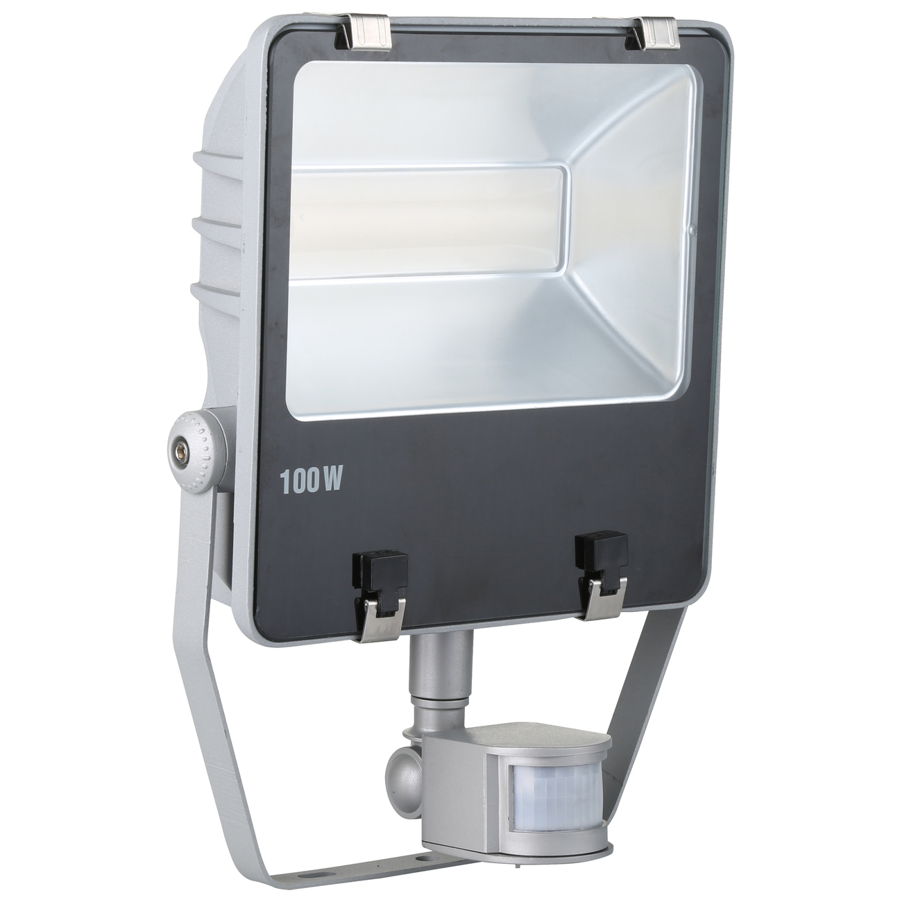 Kerbl LED-Außenstrahler mit oder ohne Bewegungsmelder, 100 W mit Bewegungsmelder (7.500 lm)