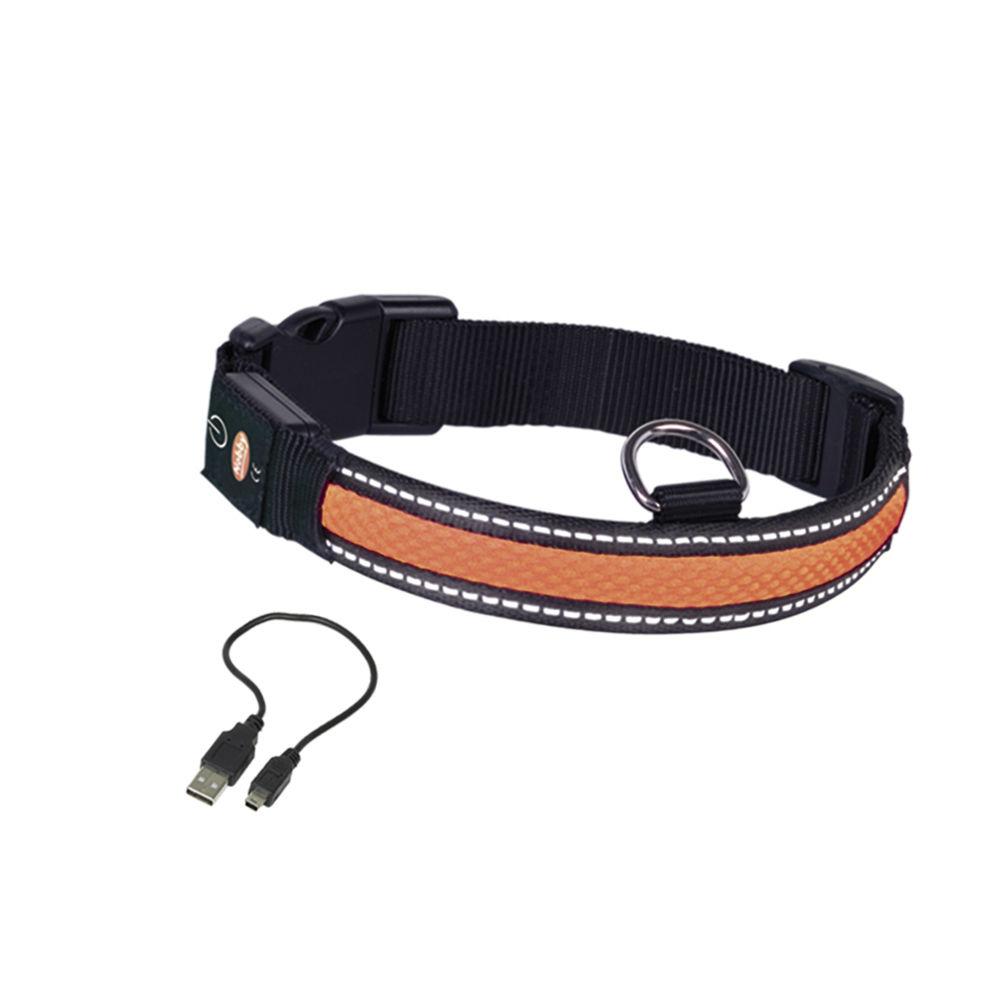 Nobby LED Leuchthalsband für Hunde FLASH MESH, Bild 4