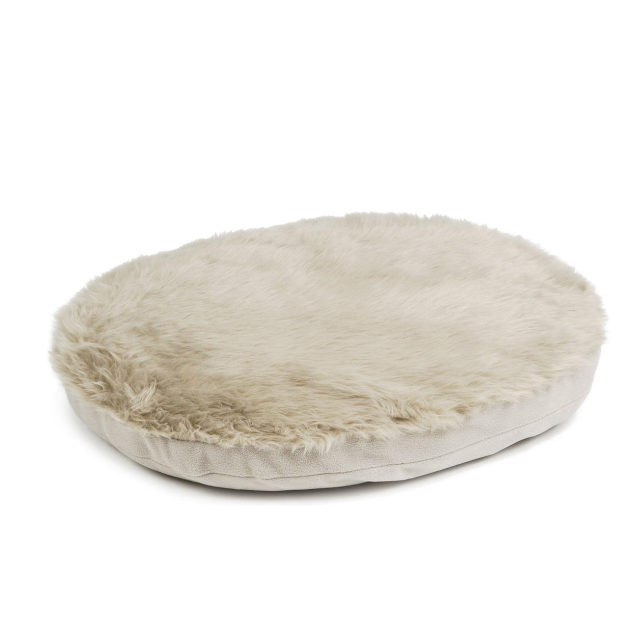 Beeztees Liegekissen für Rattan Hundekorb, S: 62 x 49 cm, beige