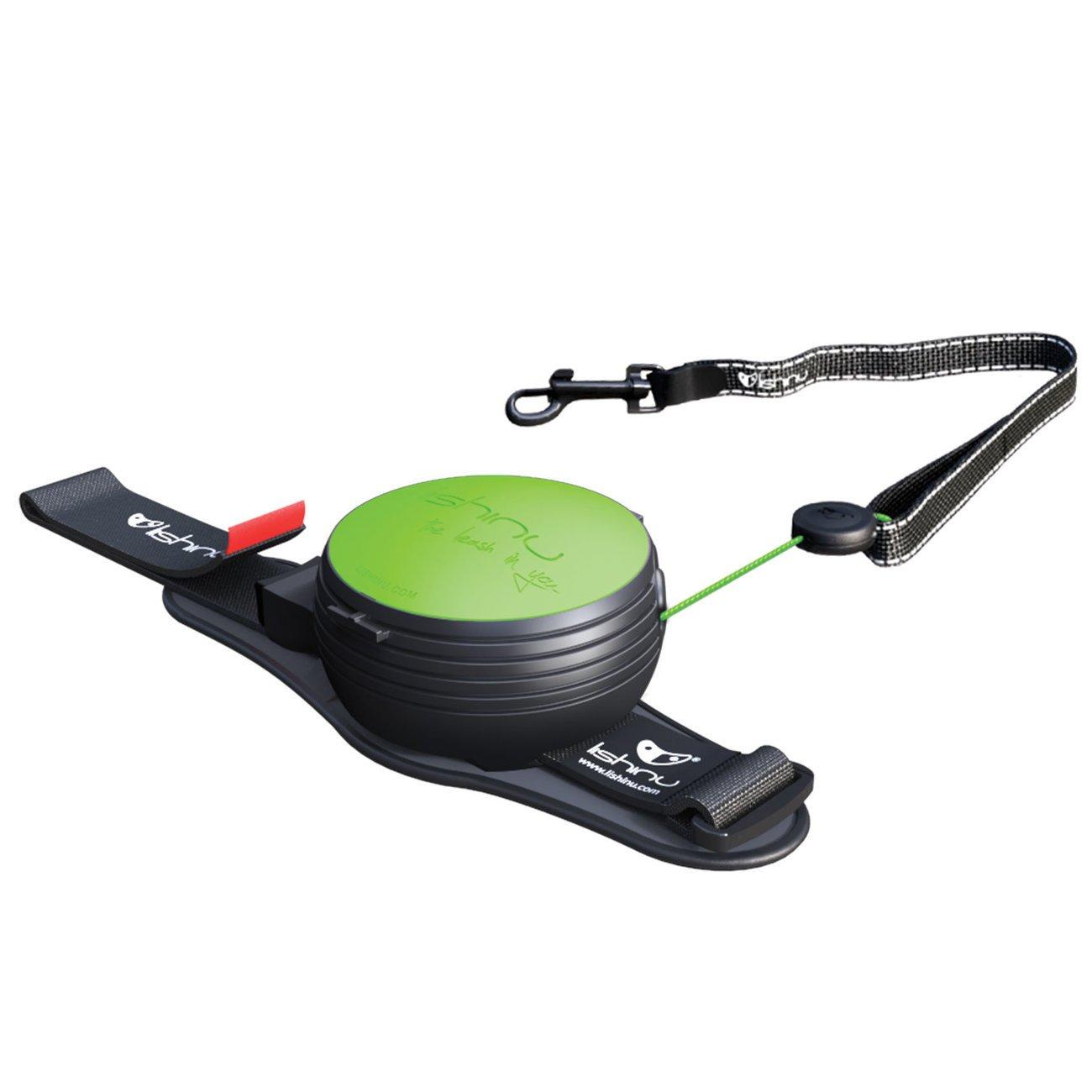 Lishinu 3 Hundeleine mit Full-STOP, XS - 2-4 kg, neon grün