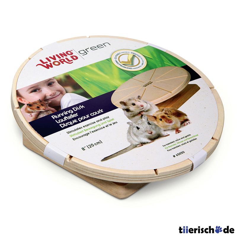 Living World Green Laufteller für Hamster und Mäuse, Bild 2