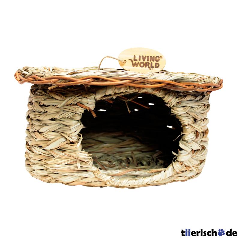 Living World Green Seegras Hütte für Kleintiere, Bild 6
