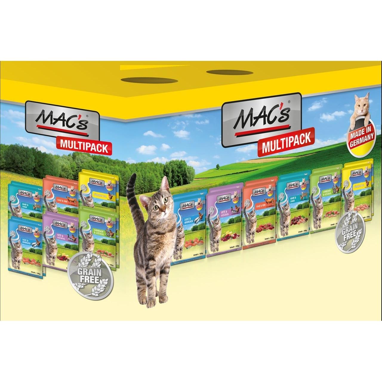 MACs Cat Nassfutter Pack Multipack Mischpaket