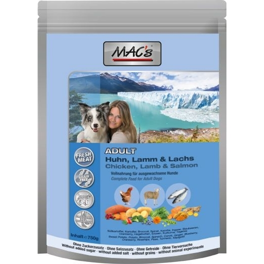 MACs Dog Adult Hundefutter, 750 g