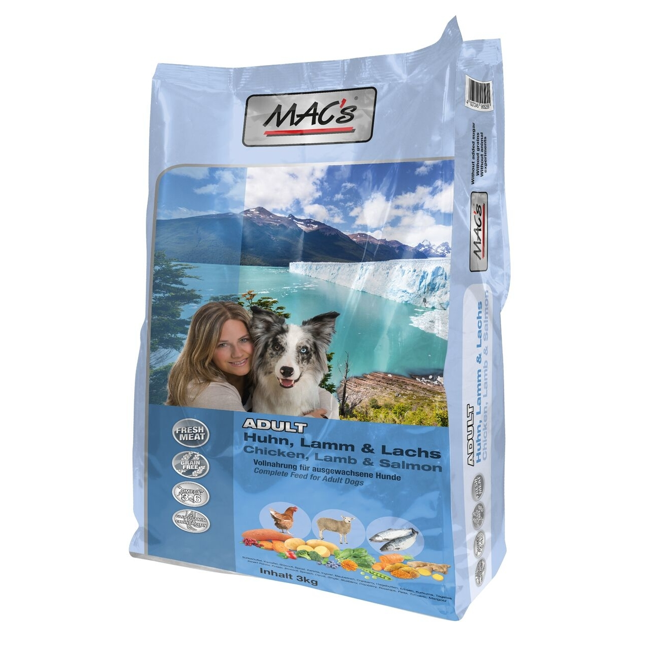 MACs Dog Adult Hundefutter, 3 kg
