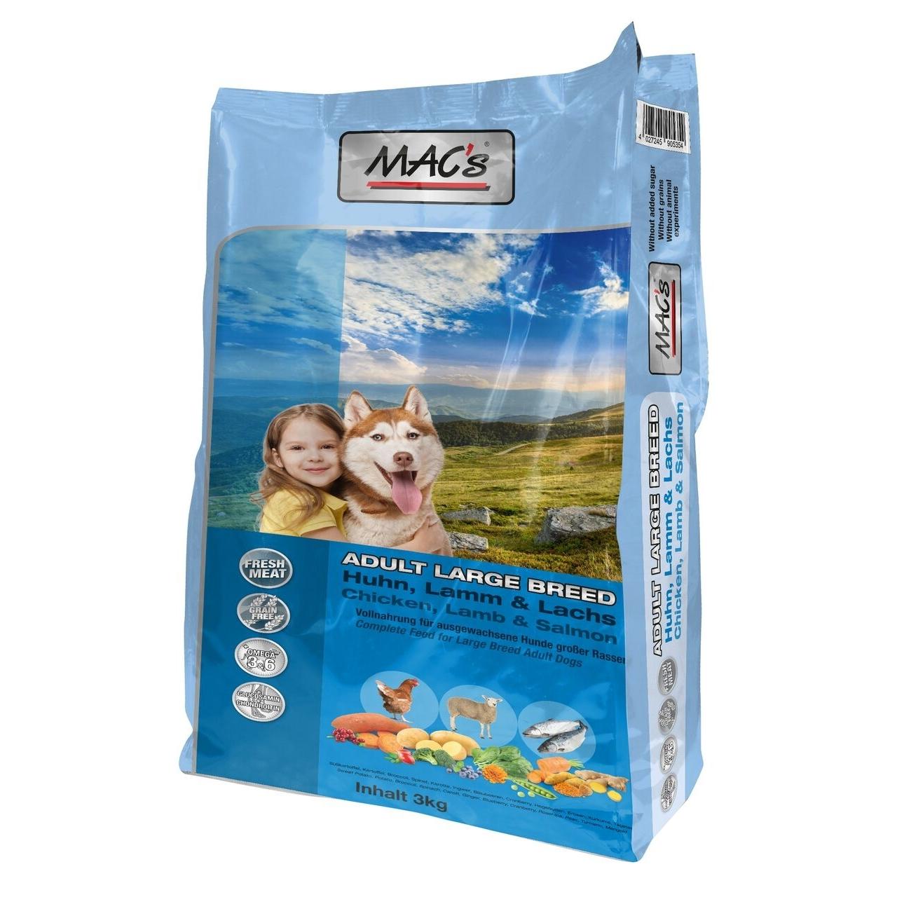 MACs Dog Adult Large Breed Trockenfutter für Hunde