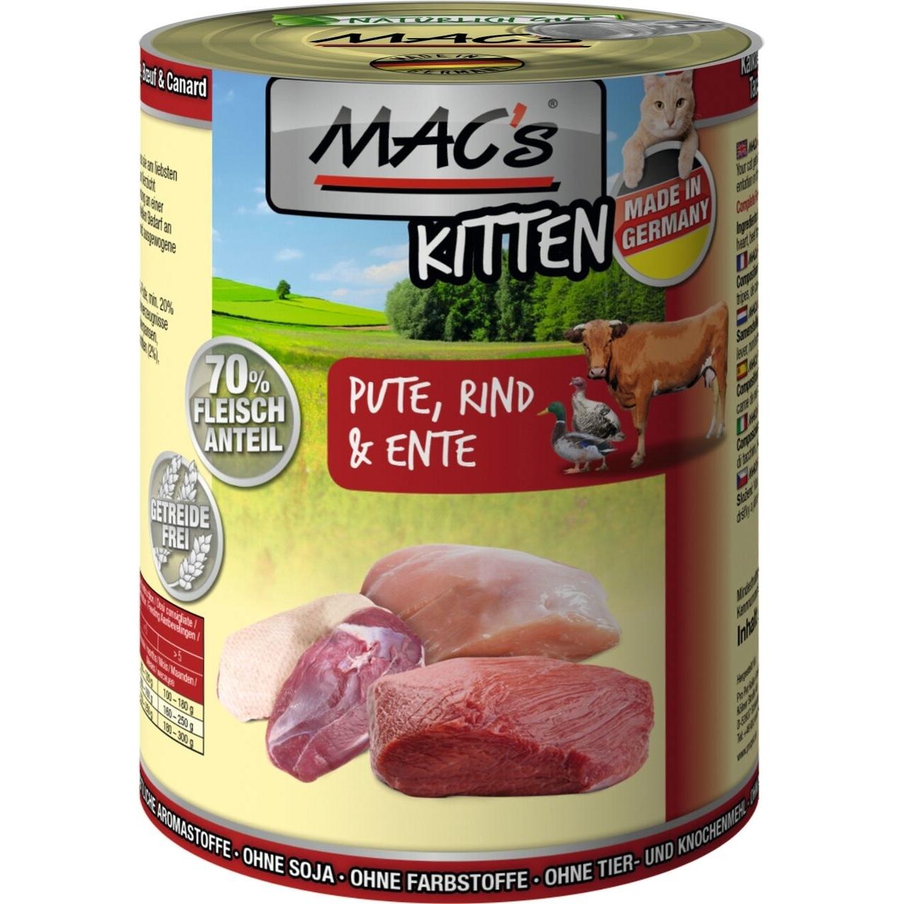 MACs Katzenfutter Kitten, Bild 2