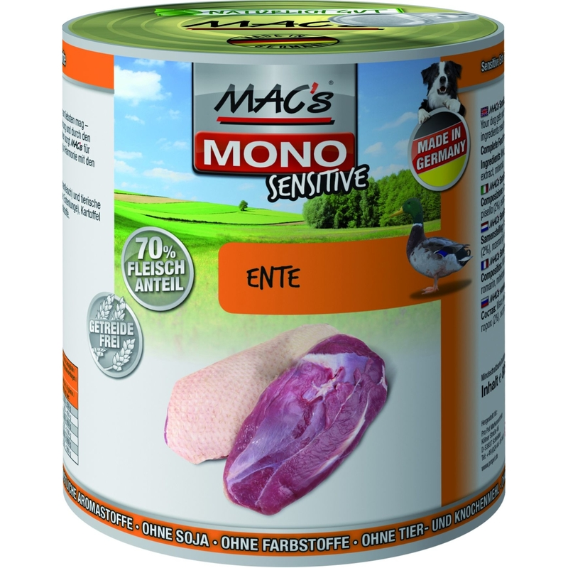 MACs Mono Sensitive Hundefutter in Dosen, Bild 5