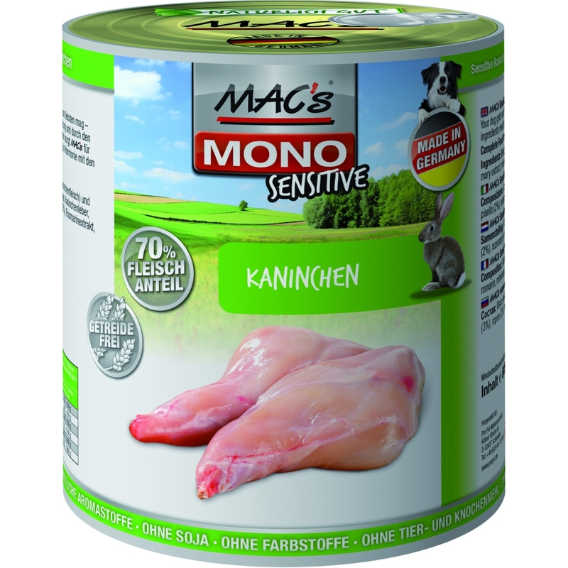 MACs Mono Sensitive Hundefutter in Dosen, Bild 6