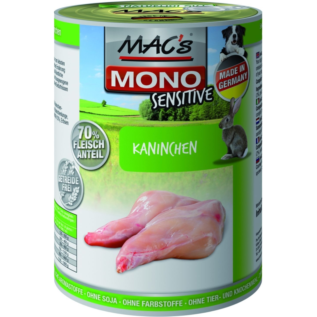 MACs Mono Sensitive Hundefutter in Dosen, Bild 11