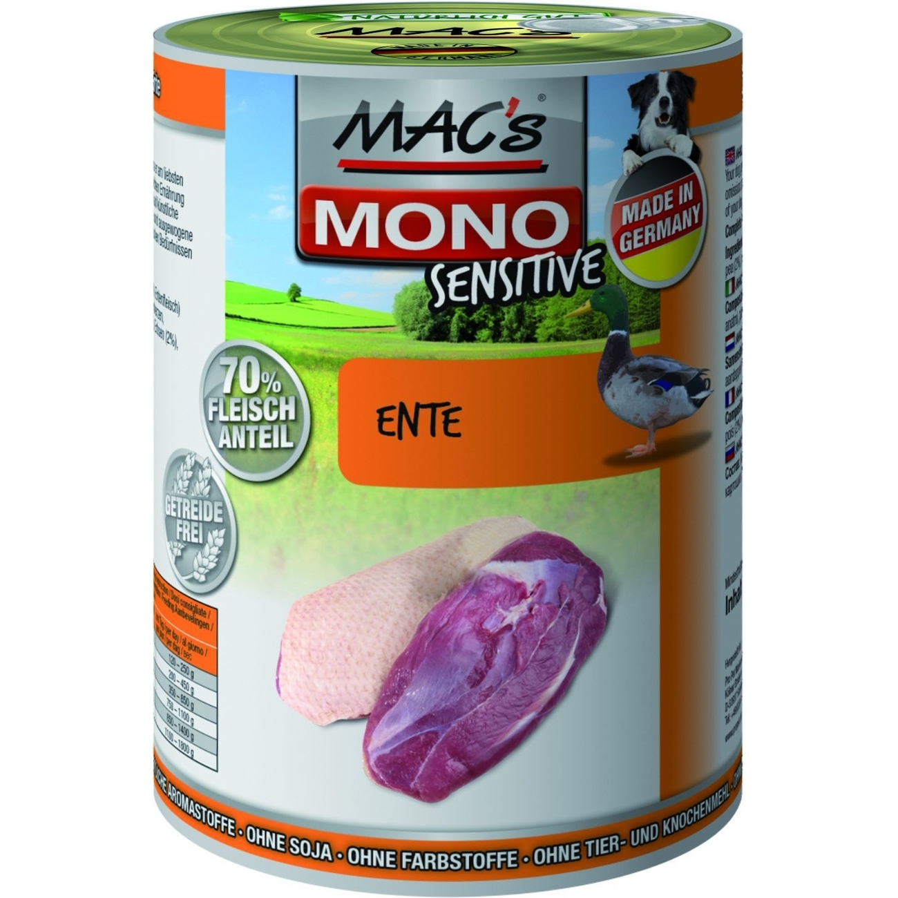 MACs Mono Sensitive Hundefutter in Dosen, Bild 12