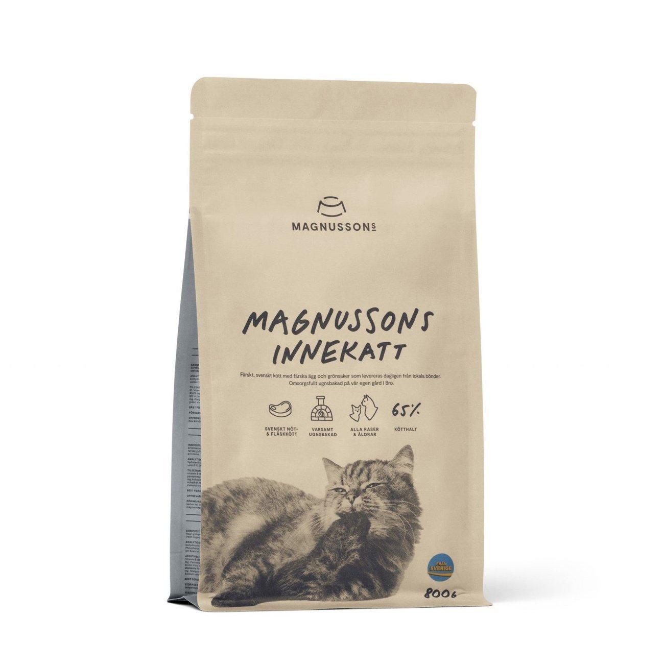 Magnusson Innekatt für Hauskatzen, 800 g
