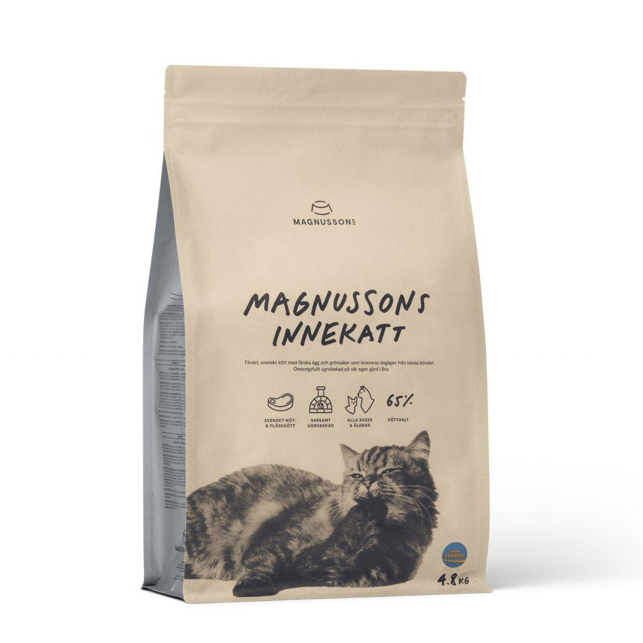 Magnusson Innekatt für Hauskatzen, 4,8 kg
