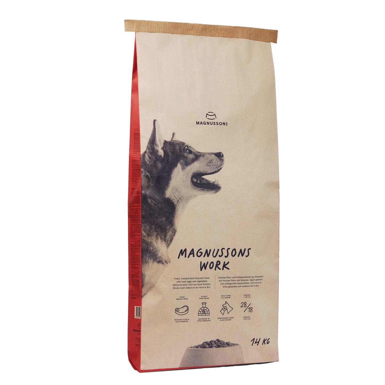 Magnusson Meat & Biscuit Work Hundefutter