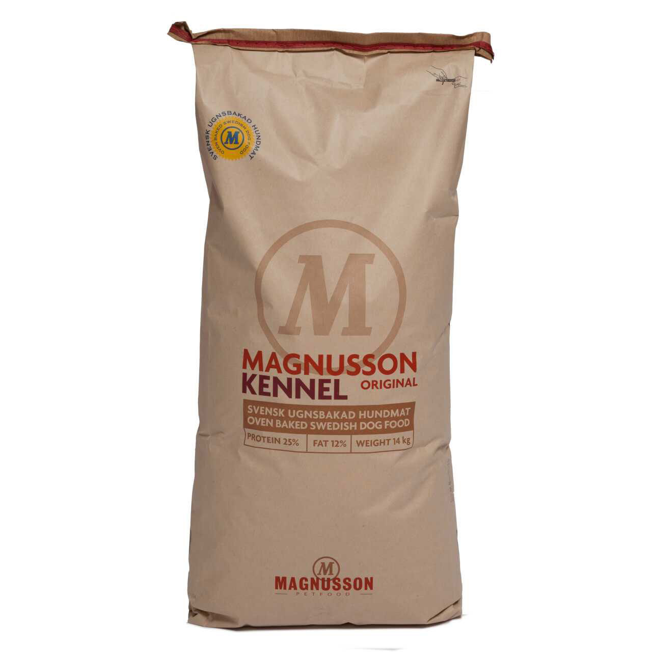 Magnusson Original KENNEL Hundefutter, 14 kg