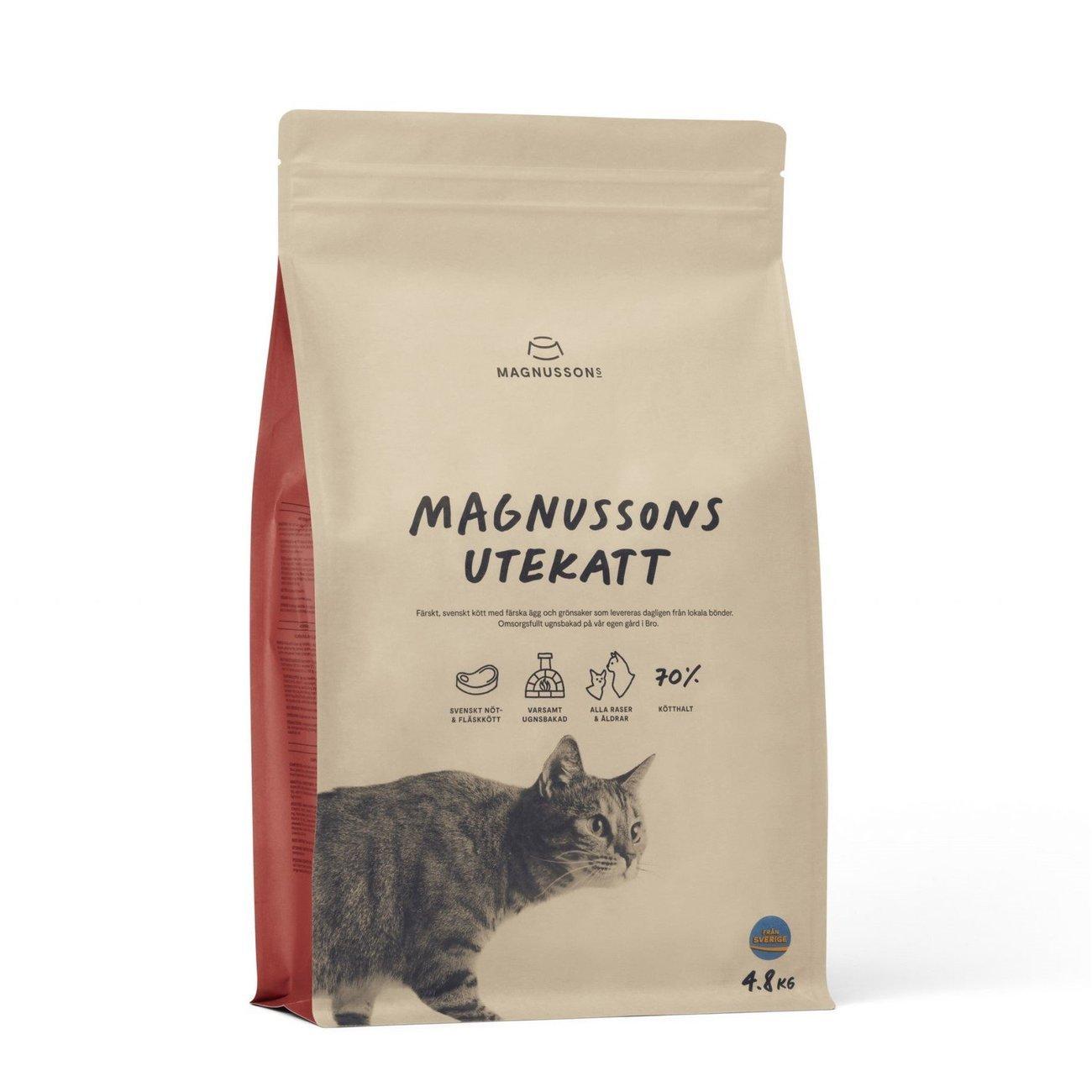 Magnusson Utekatt für Freigänger, 4,8 kg