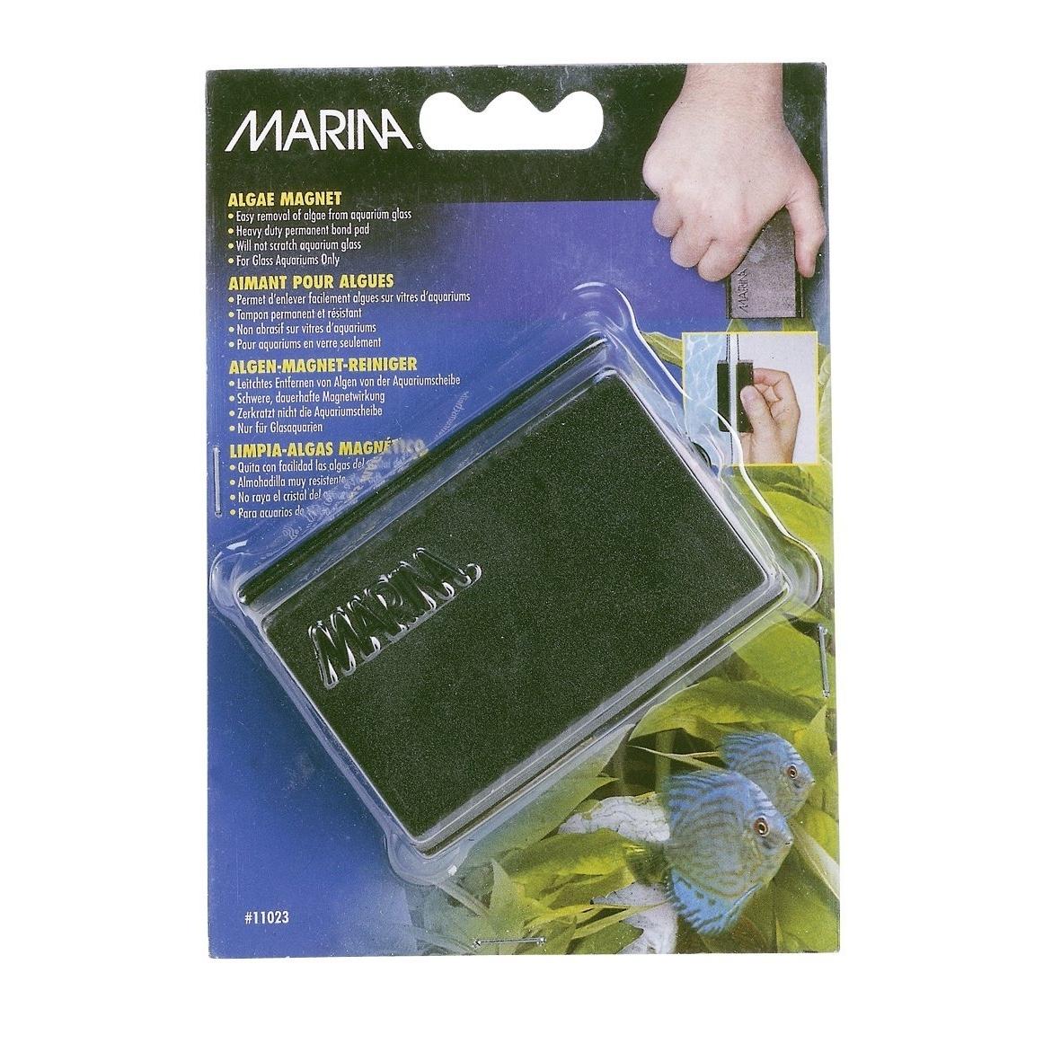 Hagen Marina Algenmagnet-Reiniger für Aquarium, mittel, 10,5 x 2,5 x 4,0 cm