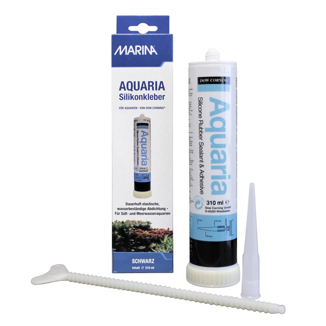 Hagen Marina Aquaria Silikonkleber, 310 ml schwarz