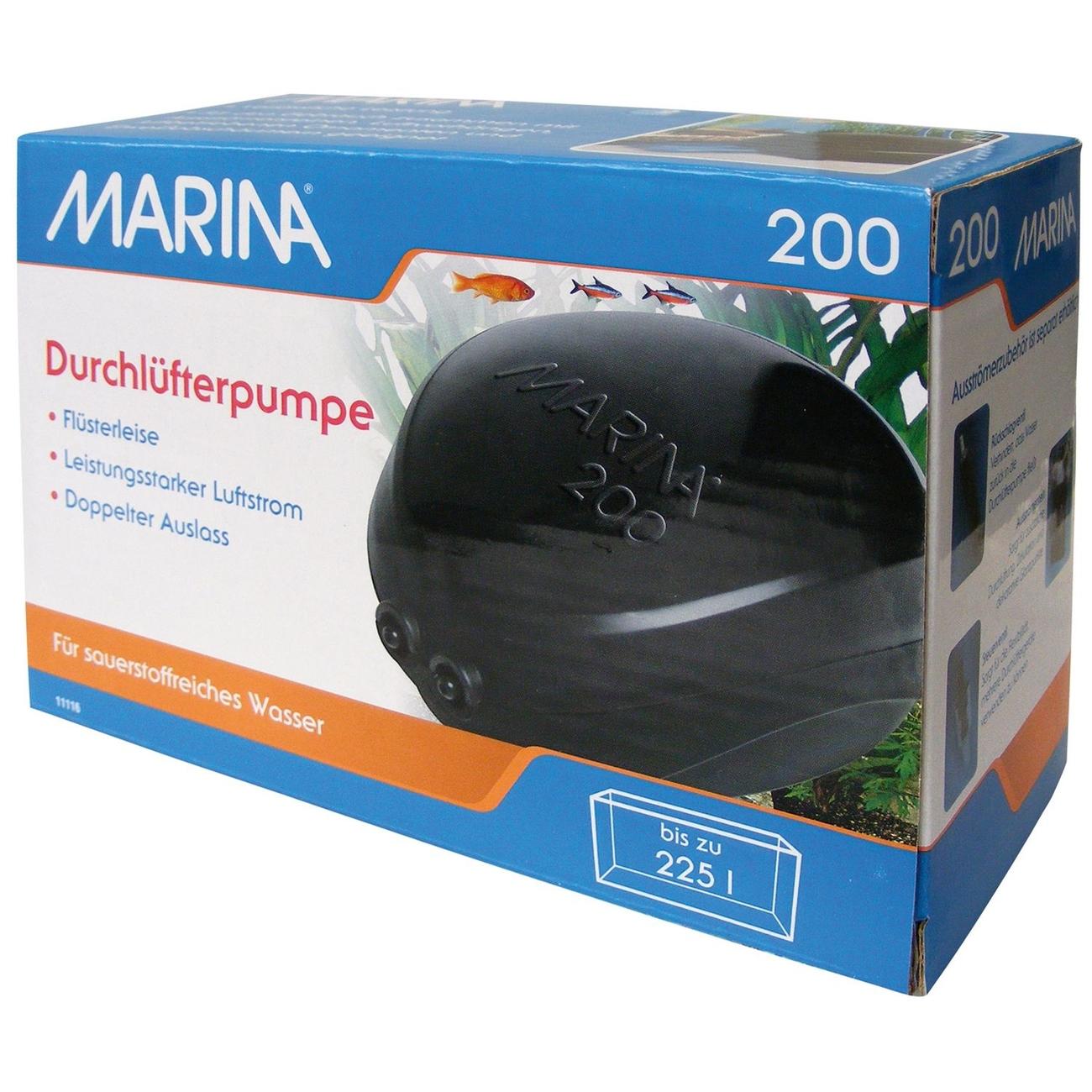 Hagen Marina Durchlüfterpumpe, 200 (9,4 x 6,9 x 12,9 cm)