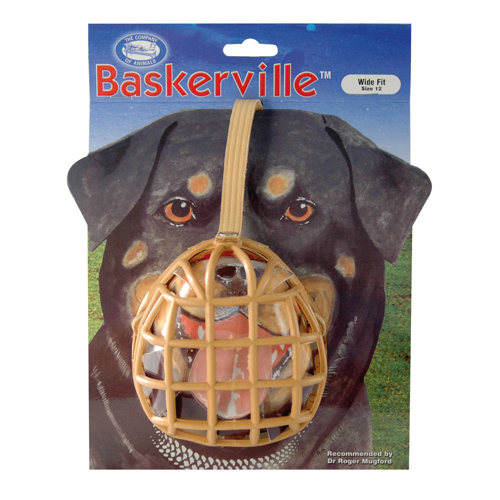 Company of Animals Maulkorb Baskerville, 12: Boxer, Pit Bull