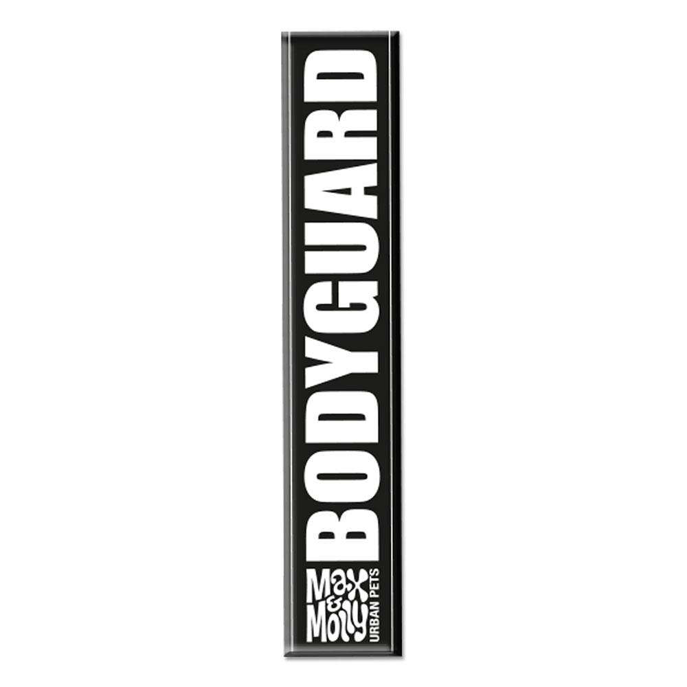 Max & Molly Cool Tags für Leinen und Geschirre, für M-L Leinen - Bodyguard (lang)