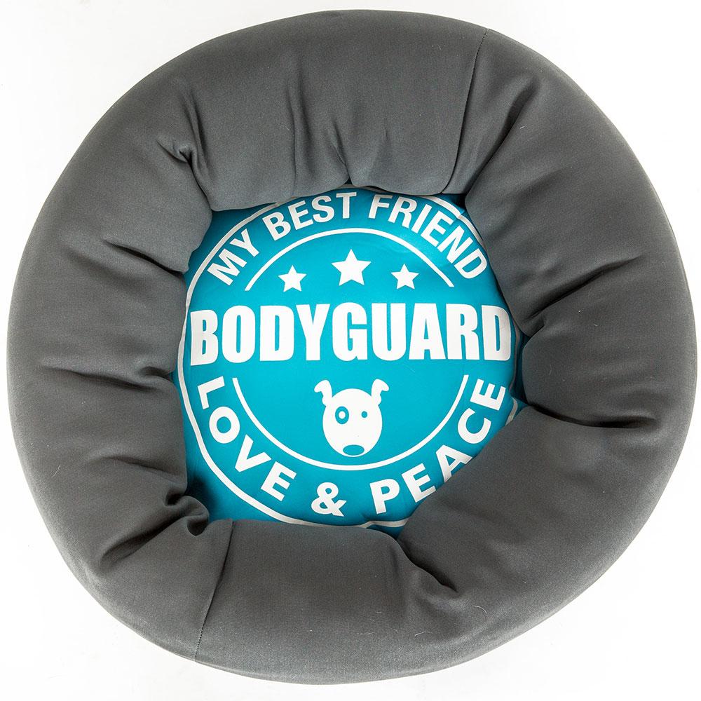Max & Molly Donut Hundebett, Bodyguard, 55x16 cm