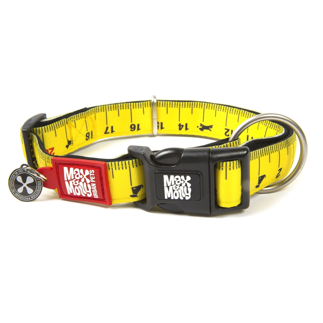 Max & Molly Smart ID Hundehalsband Ruler
