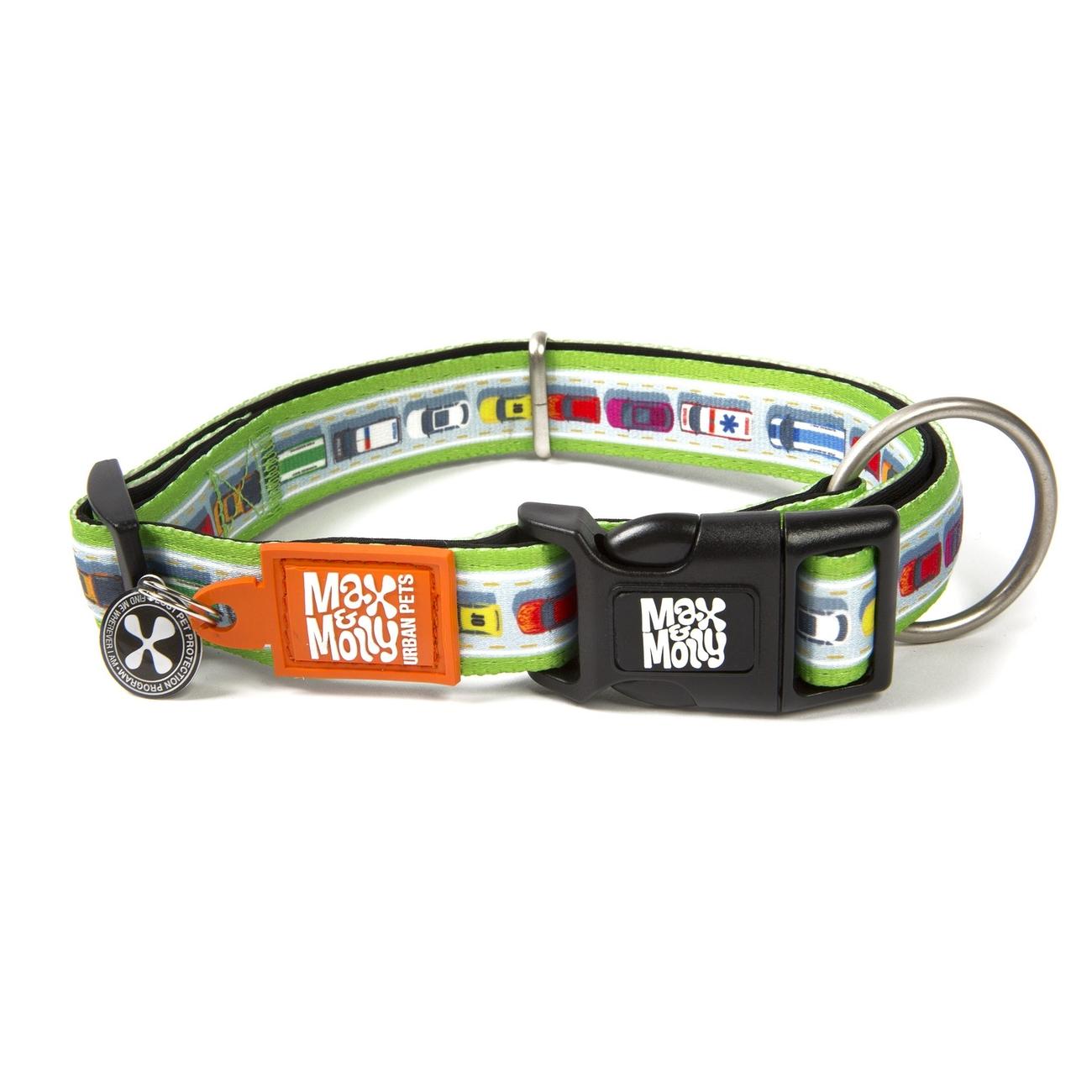 Max & Molly Smart ID Hundehalsband Traffic Jam