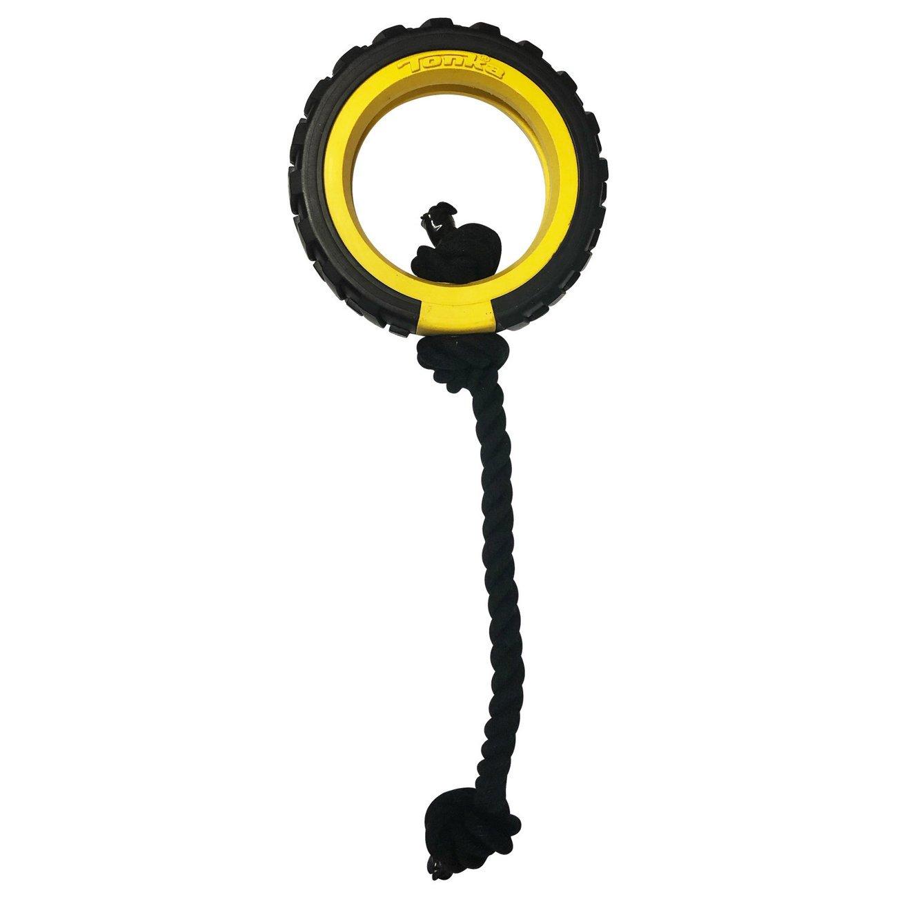 Hagen Mega Reifen mit Seil, 21 x 21 x 4,5 cm