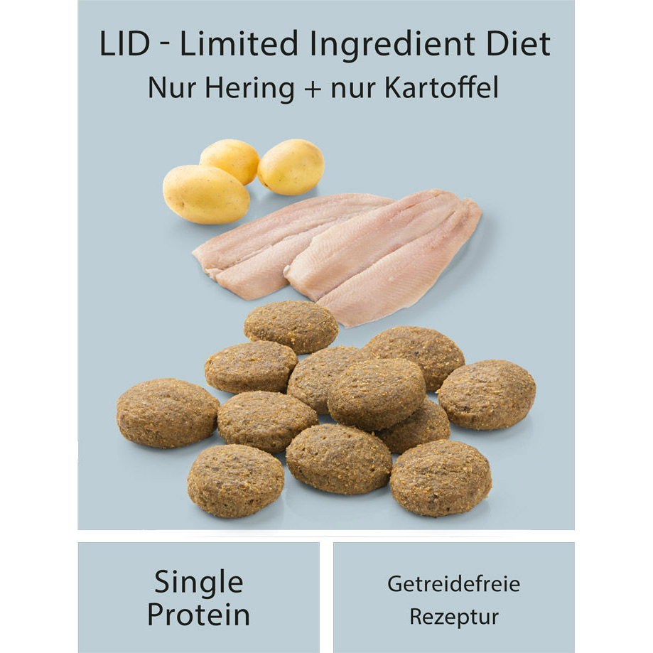 Mera Dog Pure Sensitive fresh meat Hering & Kartoffel, Bild 2
