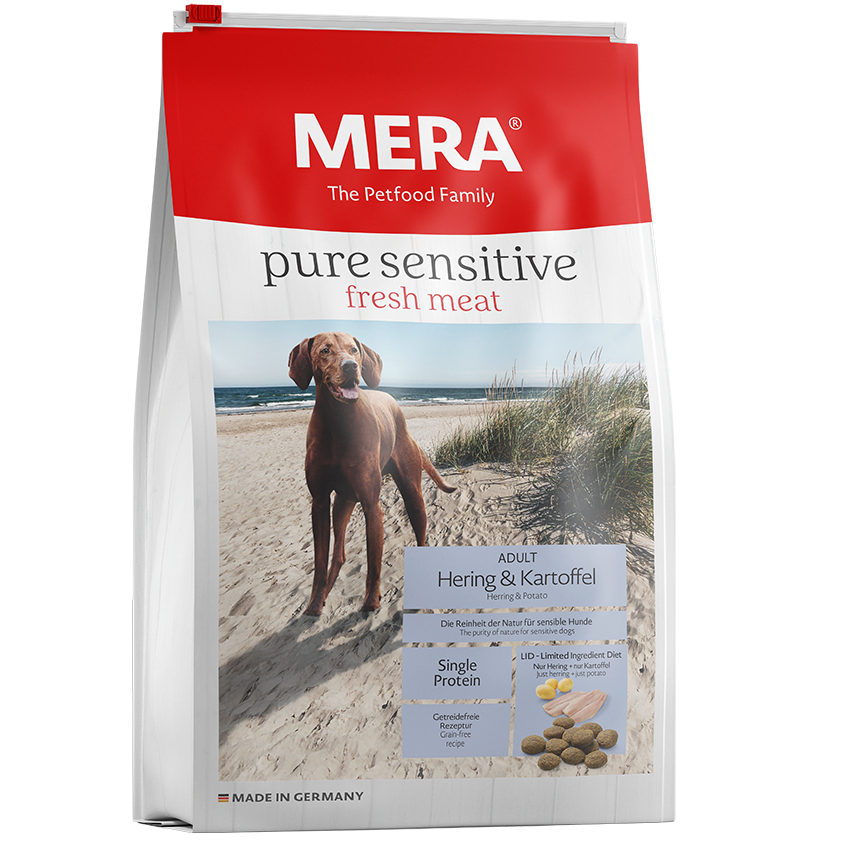 Mera Dog Pure Sensitive fresh meat Hering & Kartoffel