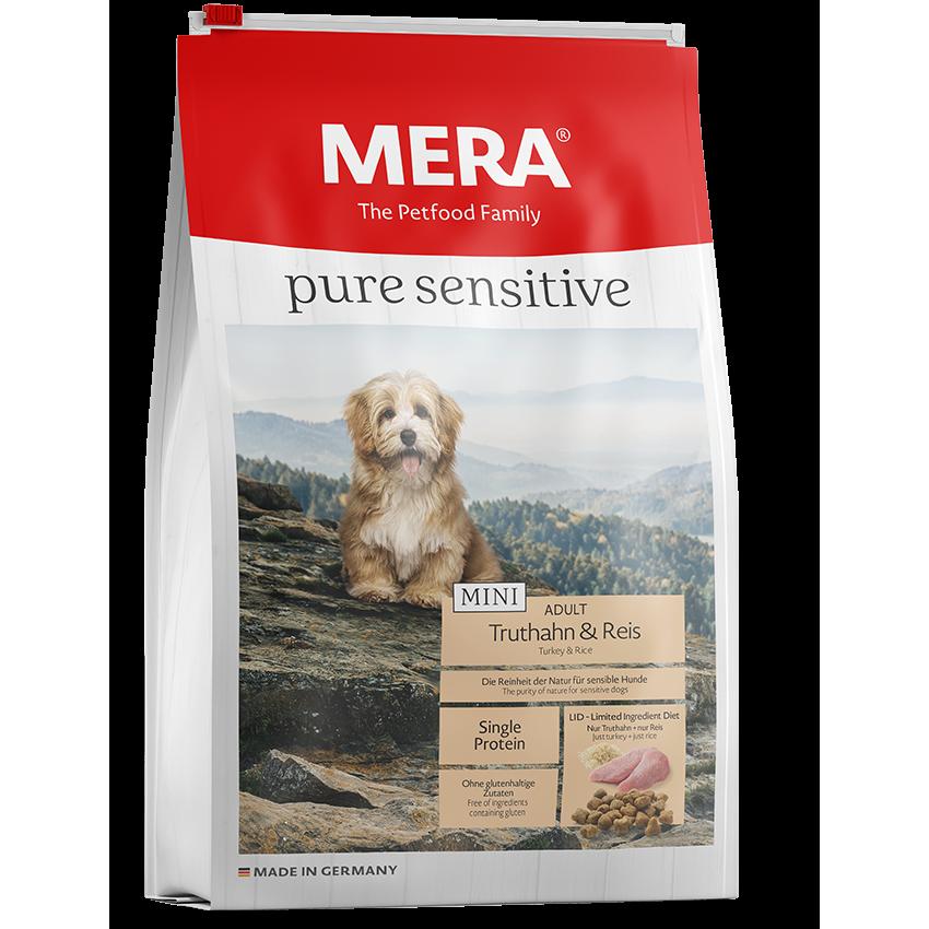 Mera Dog Pure Sensitive Mini Truthahn & Reis