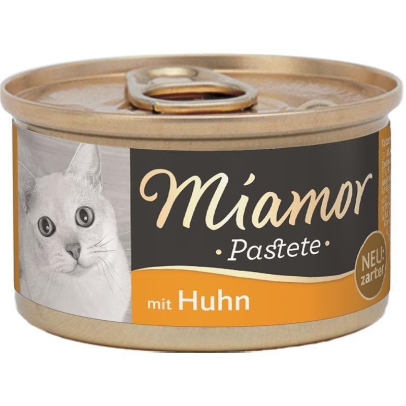 Finnern Katzenfutter Pastete in Dosen, Huhn 12x85 g