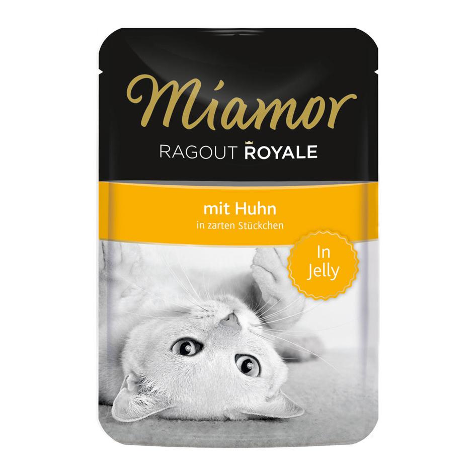 Miamor Ragout Royale in Jelly Katzenfutter, Huhn 22x100g
