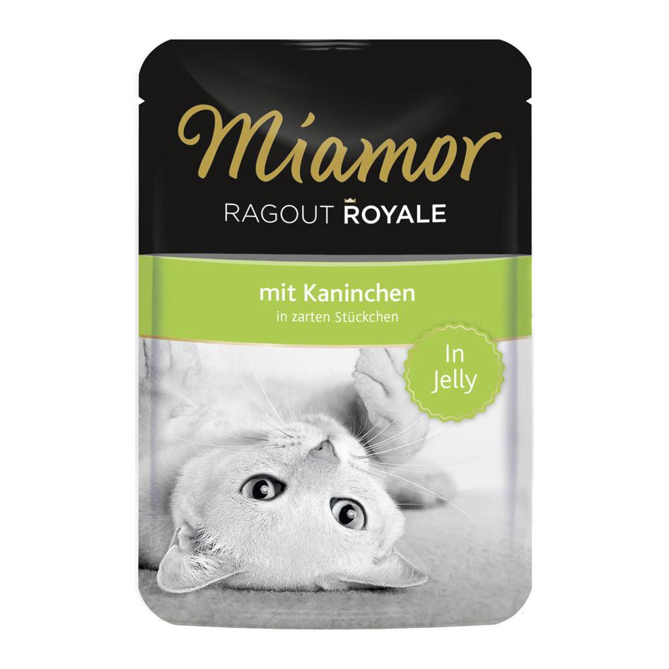 Miamor Ragout Royale in Jelly Katzenfutter, Kaninchen 22x100g
