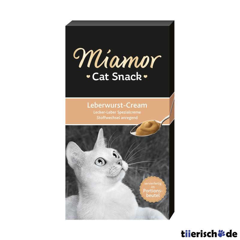 Miamor Schleck Snack Cream für Katzen, Bild 2