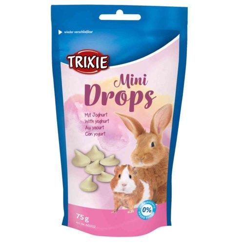 Trixie Mini Drops für Meerschweinchen und Kaninchen, Joghurt, 75 g