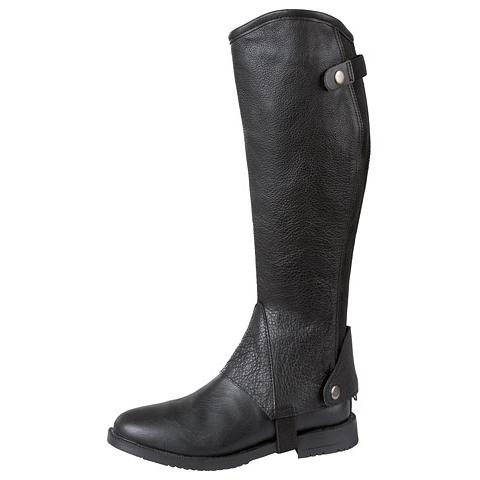 Covalliero Minichaps Stiefelschaft Elasto Leder von Covalliero, Bild 2