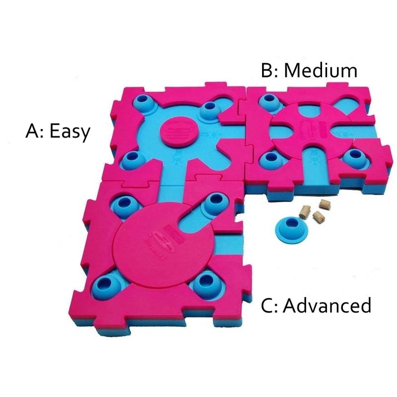 Nina Ottosson MixMax Puzzle Cat, A: Easy