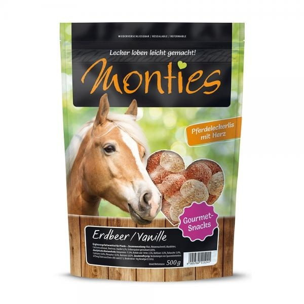 Monties Extrudierte Pferdeleckerlis