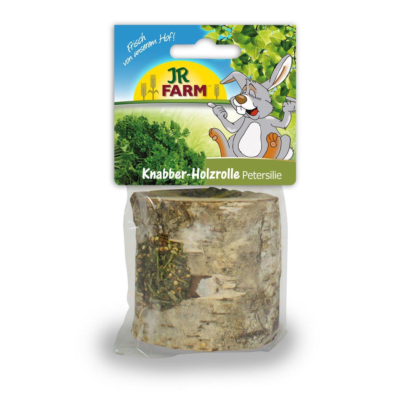 JR Farm Mr. Woodfield Knabber-Holzrolle Petersilie