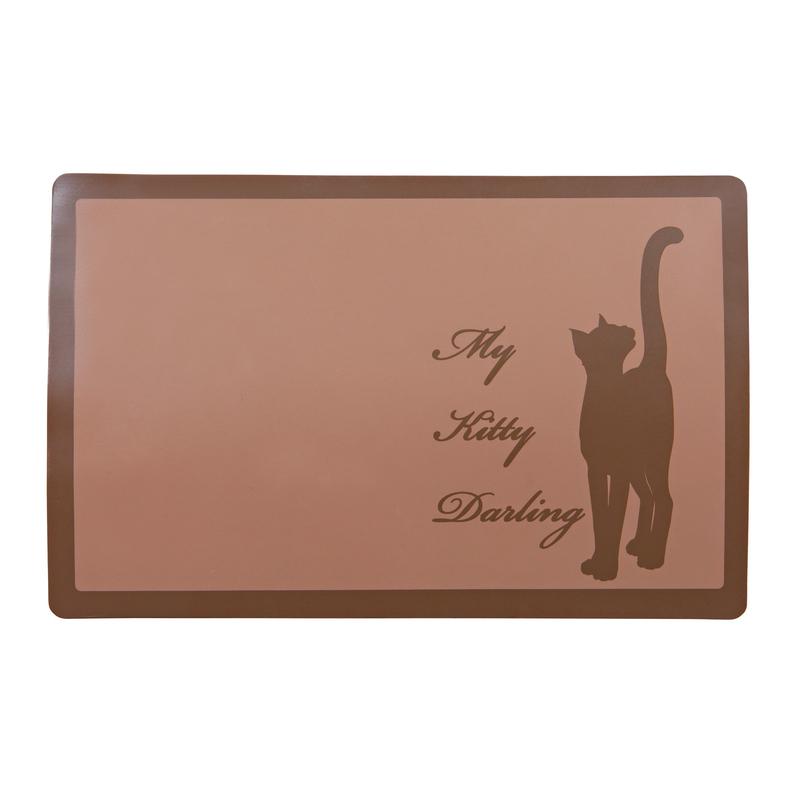 TRIXIE My Kitty Darling Napfunterlage für Katzen 24473, Bild 2