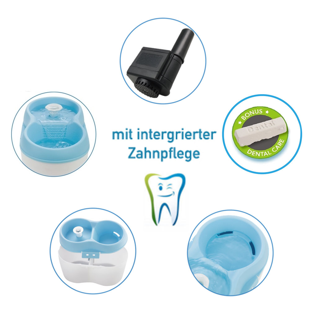 Cat H2O Katzentrinkbrunnen mit Zahnpflege, Bild 3