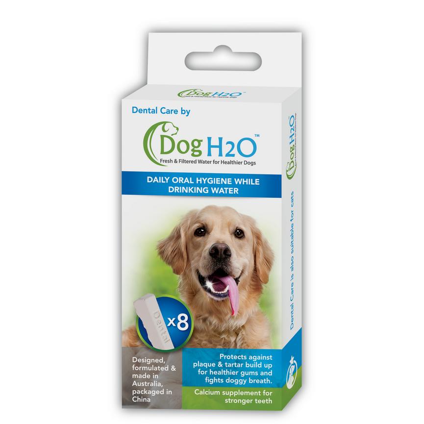 Dog H2O Hundetrinkbrunnen mit Zahnpflege, Bild 7